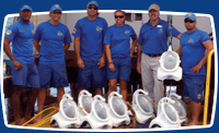 Sea TREK Staff with Helmets