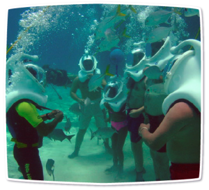 Sea TREK Helmet Diving